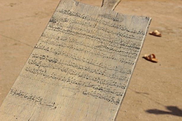 Sudan'da eski usül Kur'an Kursu 34