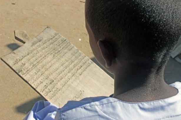 Sudan'da eski usül Kur'an Kursu 35