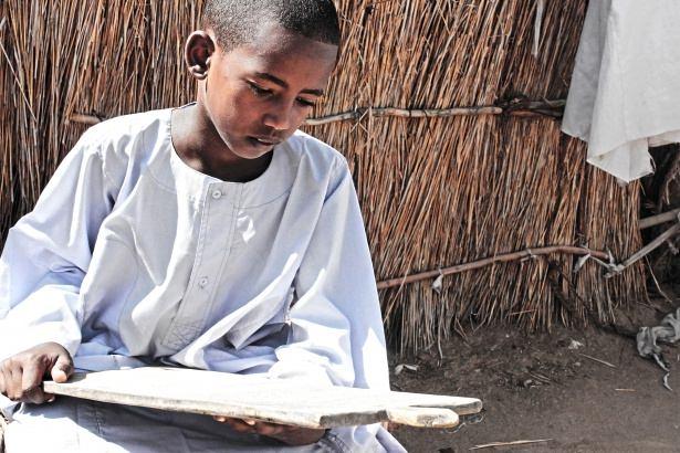 Sudan'da eski usül Kur'an Kursu 38