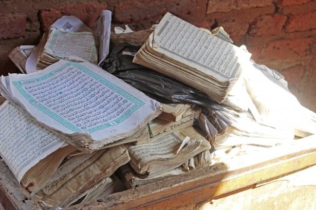 Sudan'da eski usül Kur'an Kursu 39