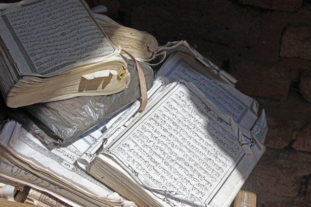 Sudan'da eski usül Kur'an Kursu 40
