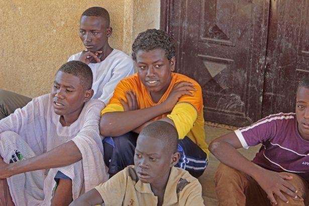 Sudan'da eski usül Kur'an Kursu 45