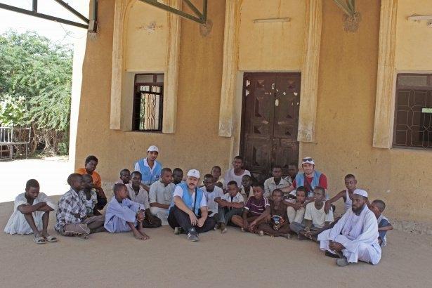 Sudan'da eski usül Kur'an Kursu 46
