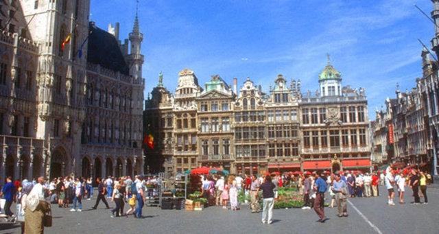 İşte Avrupa'nın kalbi 'Brüksel' 5
