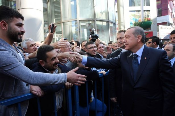 Cumhurbaşkanı'na Trabzon'da sevgi seli 12