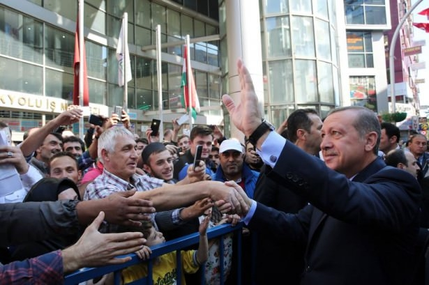 Cumhurbaşkanı'na Trabzon'da sevgi seli 14