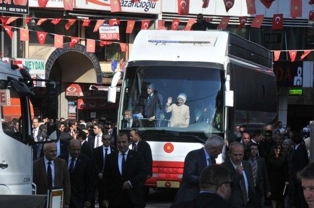Cumhurbaşkanı'na Trabzon'da sevgi seli 15