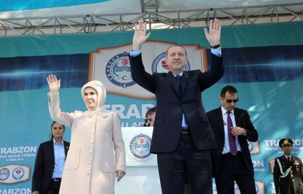 Cumhurbaşkanı'na Trabzon'da sevgi seli 20