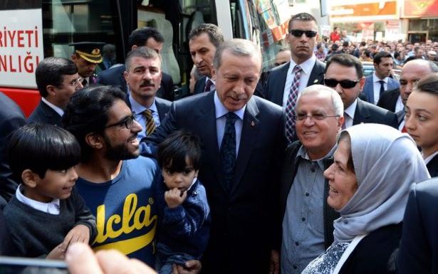 Cumhurbaşkanı'na Trabzon'da sevgi seli 23