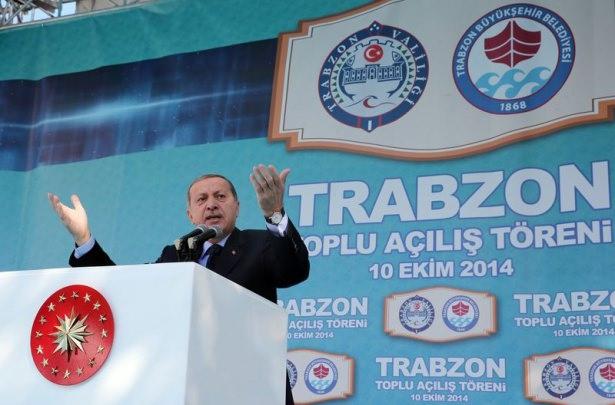 Cumhurbaşkanı'na Trabzon'da sevgi seli 26