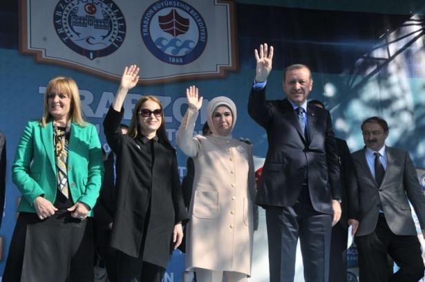 Cumhurbaşkanı'na Trabzon'da sevgi seli 27