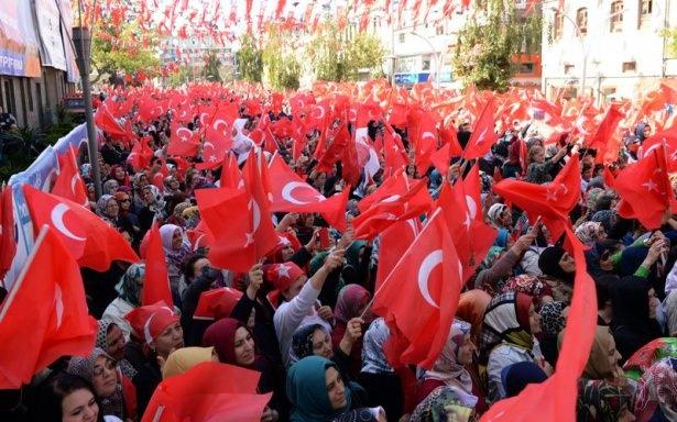 Cumhurbaşkanı'na Trabzon'da sevgi seli 3