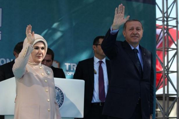 Cumhurbaşkanı'na Trabzon'da sevgi seli 30