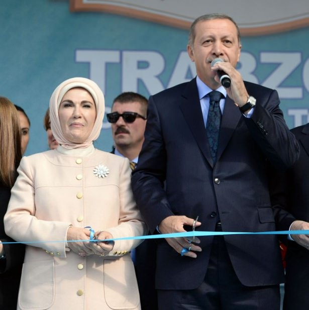 Cumhurbaşkanı'na Trabzon'da sevgi seli 31