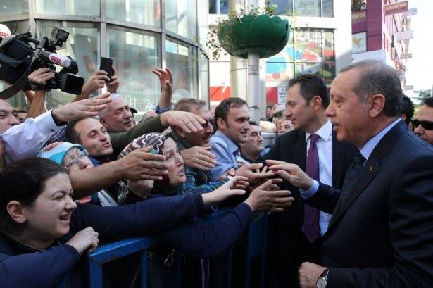Cumhurbaşkanı'na Trabzon'da sevgi seli 32