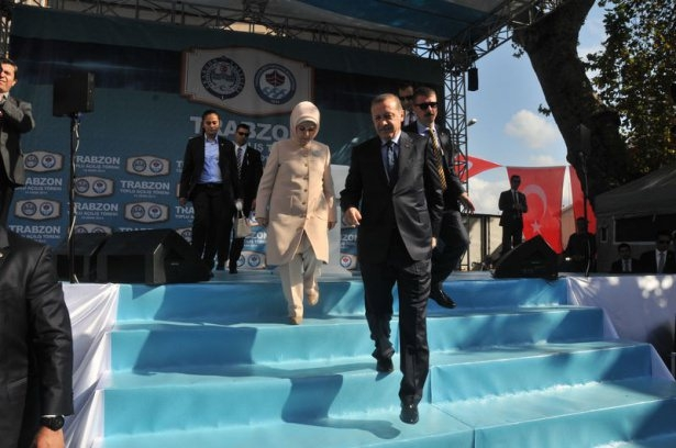Cumhurbaşkanı'na Trabzon'da sevgi seli 34