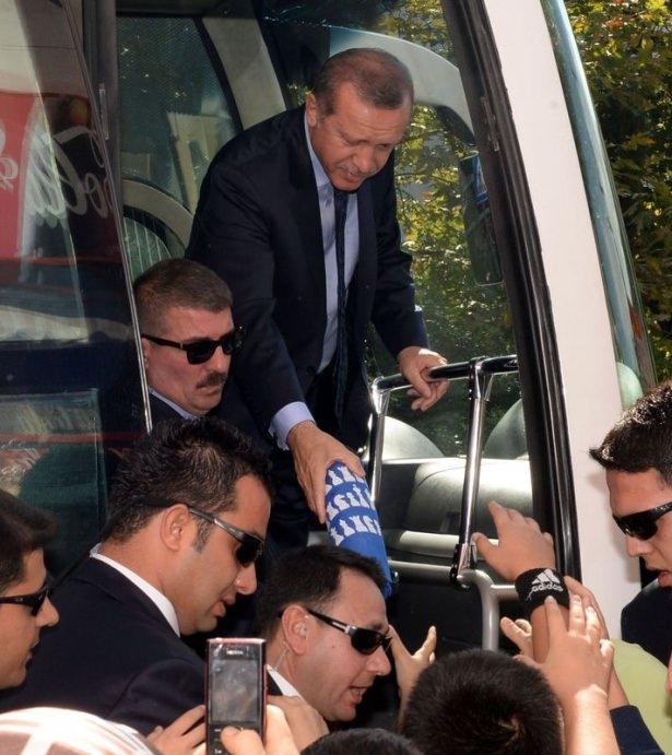 Cumhurbaşkanı'na Trabzon'da sevgi seli 35
