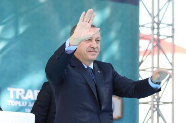 Cumhurbaşkanı'na Trabzon'da sevgi seli 37