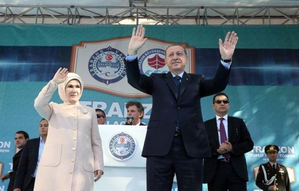Cumhurbaşkanı'na Trabzon'da sevgi seli 39