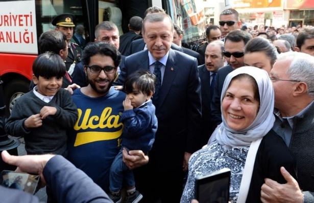 Cumhurbaşkanı'na Trabzon'da sevgi seli 7
