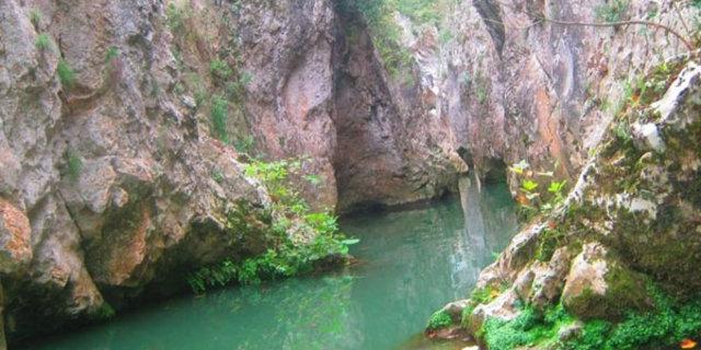 Efsane kanyona ilk kez girildi 1