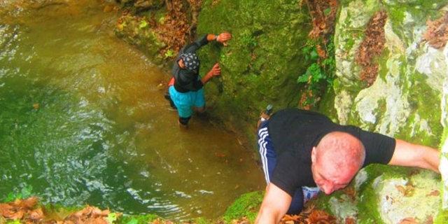 Efsane kanyona ilk kez girildi 10