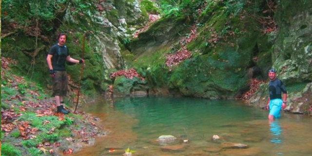 Efsane kanyona ilk kez girildi 11