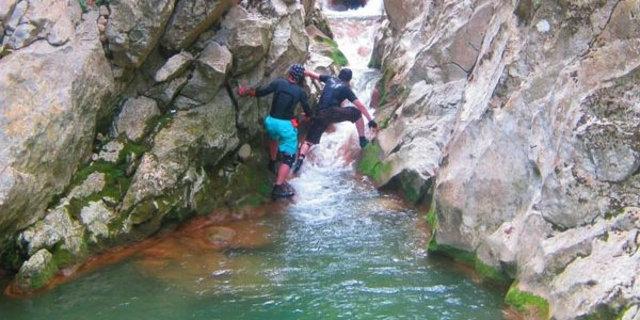 Efsane kanyona ilk kez girildi 6