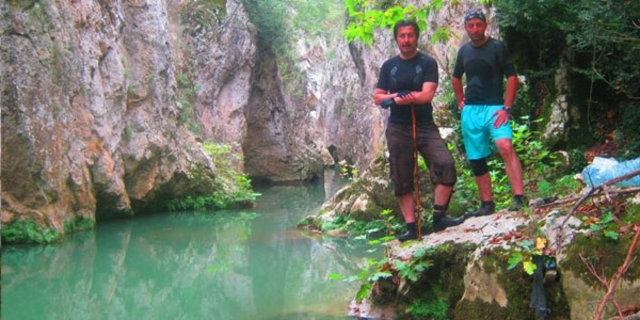Efsane kanyona ilk kez girildi 8