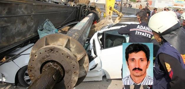 Adana'da korku filmi gibi kaza: 1 ölü 1