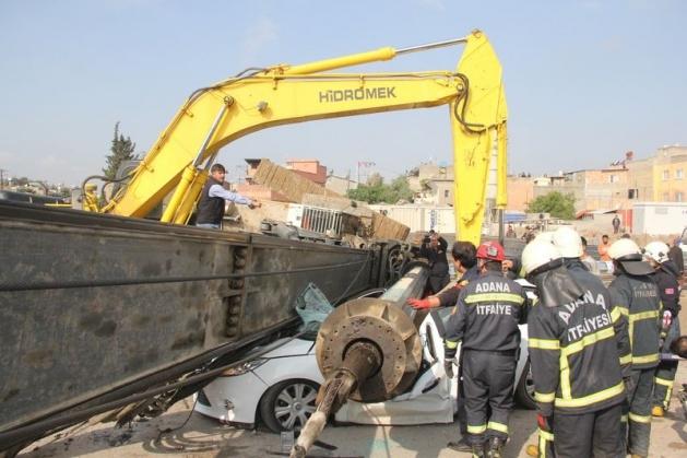Adana'da korku filmi gibi kaza: 1 ölü 3