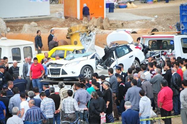 Adana'da korku filmi gibi kaza: 1 ölü 8