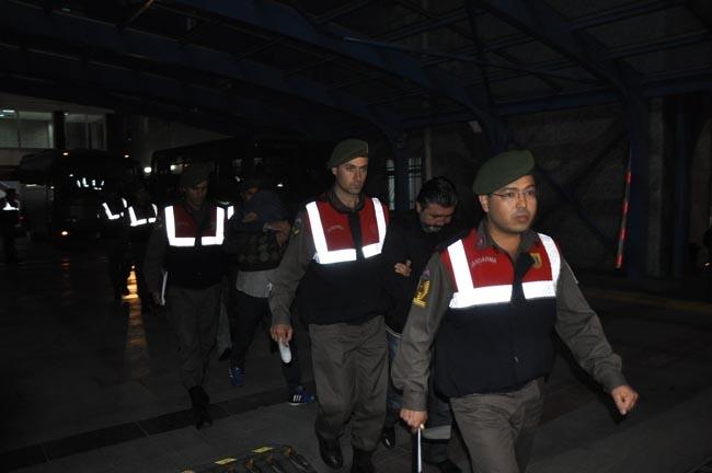 Konya'da suç örgütü operasyonu 12