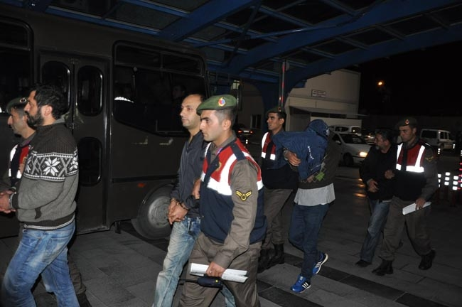Konya'da suç örgütü operasyonu 14