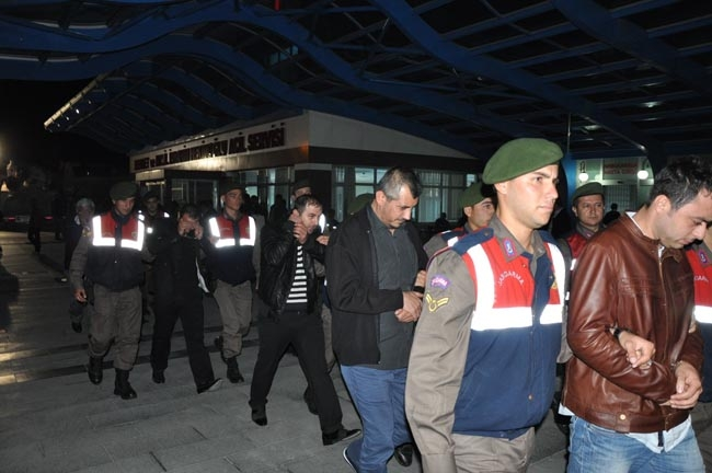 Konya'da suç örgütü operasyonu 17