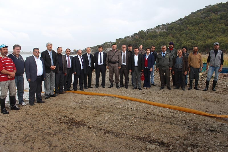 Beyşehir Gölü'ne bilimsel operasyon 9