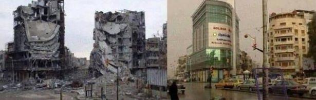 Suriye'de savaşın sebep olduğu tahribat 5