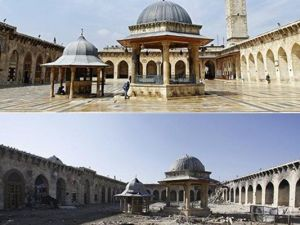 Suriye'de savaşın sebep olduğu tahribat