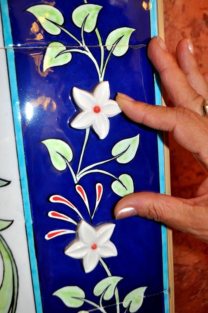 Türk çini sanatına iki yeni teknik kazandırıldı 12