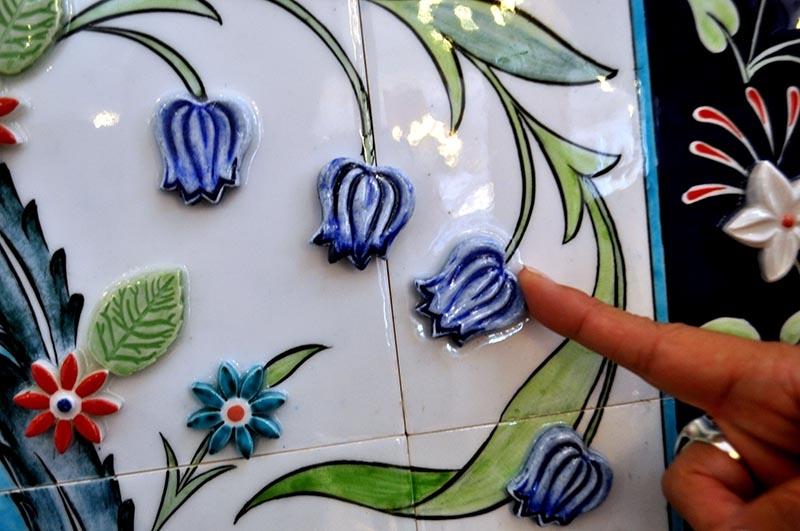 Türk çini sanatına iki yeni teknik kazandırıldı 15
