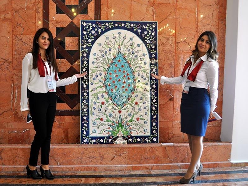 Türk çini sanatına iki yeni teknik kazandırıldı 4