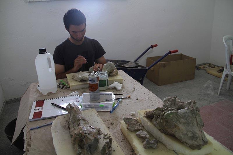 Kazı evi, milyonlarca yıllık fosillere ev sahipliği yapıyor 11