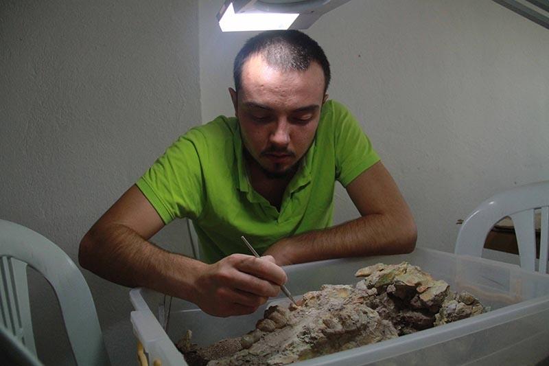 Kazı evi, milyonlarca yıllık fosillere ev sahipliği yapıyor 21