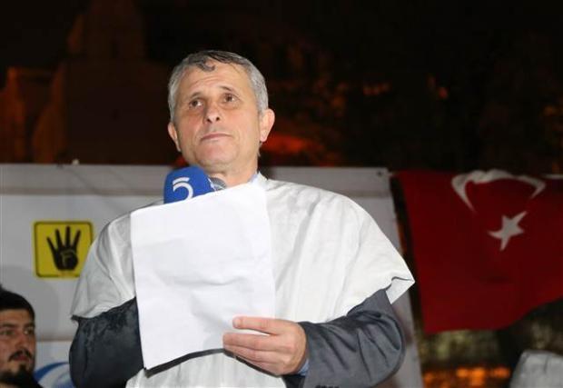 Ayasofya'da protesto edildi 16