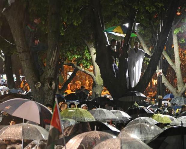 Ayasofya'da protesto edildi 6