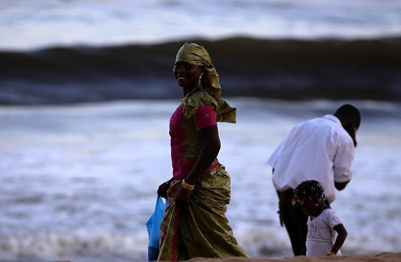 Fildişi kadını yokluklara rağmen hayata dört elle sarılıyor 32