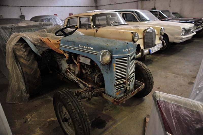 Klasik otomobil tutkusu atölye kurdurttu 15