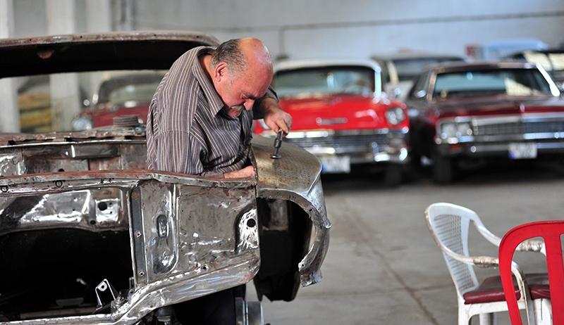 Klasik otomobil tutkusu atölye kurdurttu 6