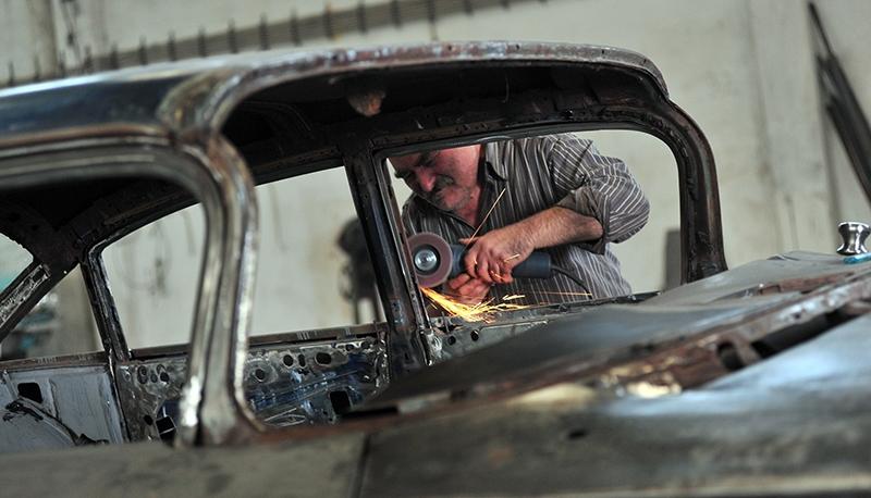 Klasik otomobil tutkusu atölye kurdurttu 8