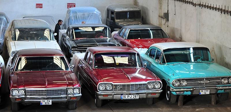 Klasik otomobil tutkusu atölye kurdurttu 9